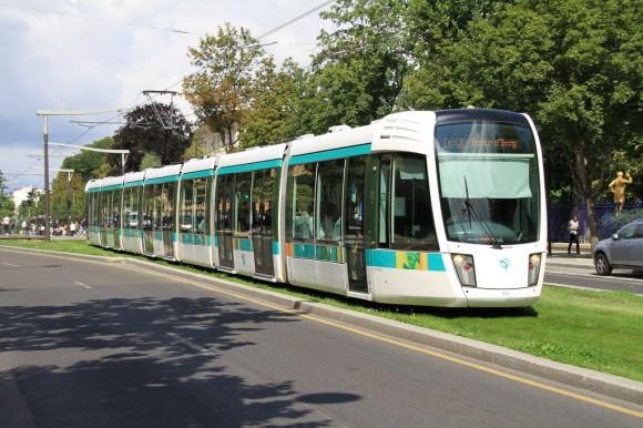 Straßenbahn in Paris