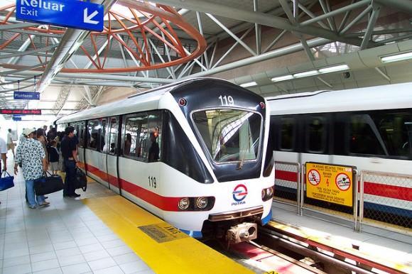 LRT Stadtbahn Kuala Lumpur