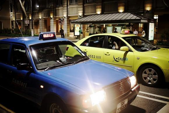 Taxiverkehr in Singapur