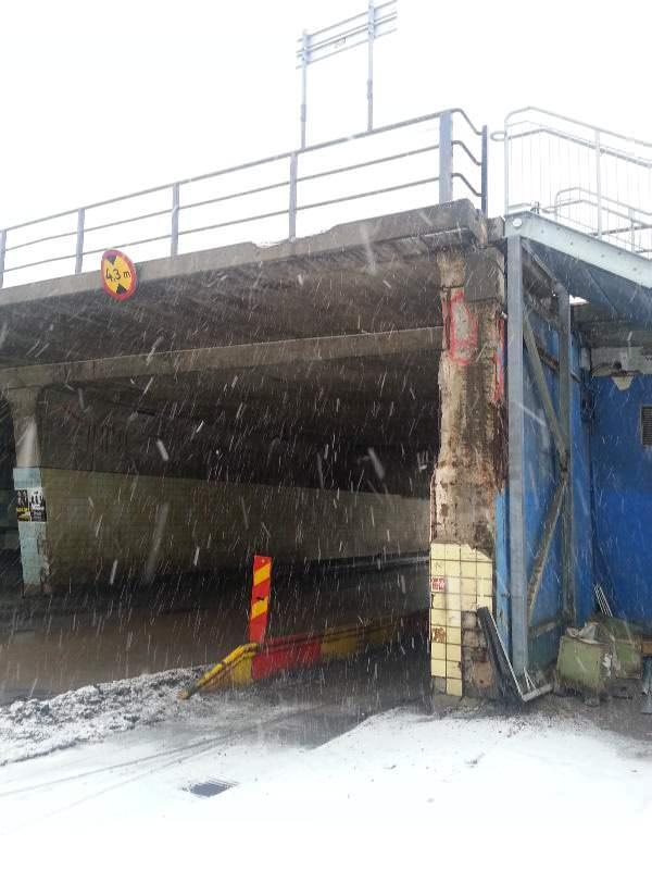 Slussen Februar 2013 Bauzustand