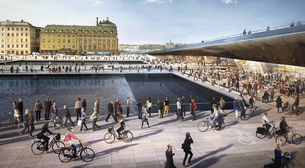 Slussen Stockholm Stadtentwicklung Stadtumbau