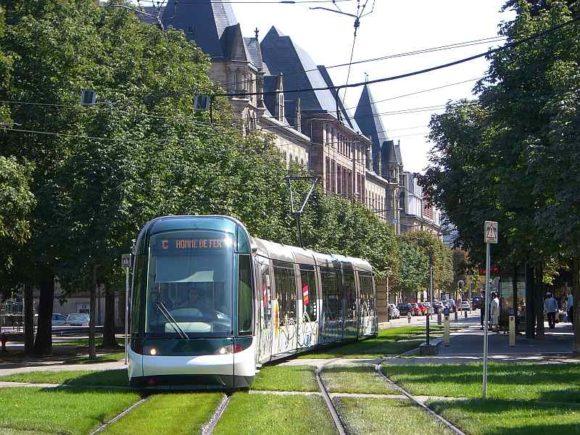 Straßenbahn in Strasbourg