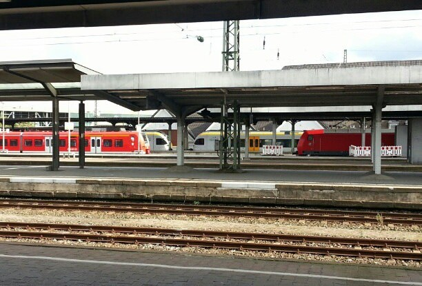 Eurobahn DB Regio Bahnhof Hamm