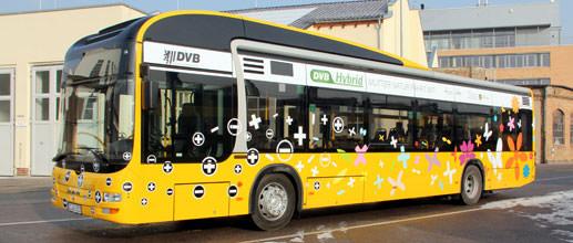 DVB MAN Lion's City Hybrid