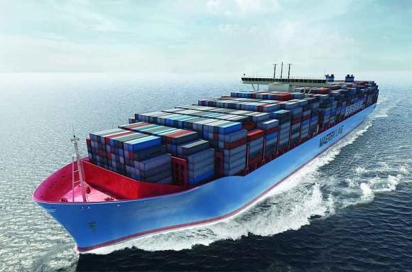 Maersk Triple-E Containerschiff