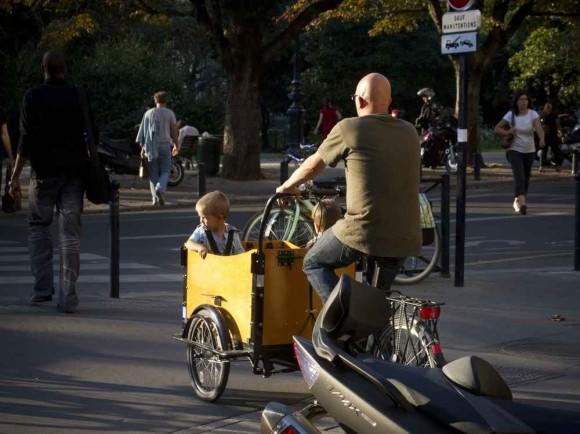 Cargobike Familie Bordeaux
