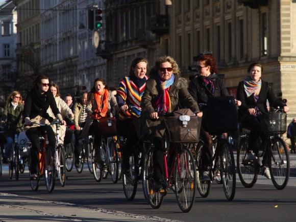 Radfahrer Kopenhagen