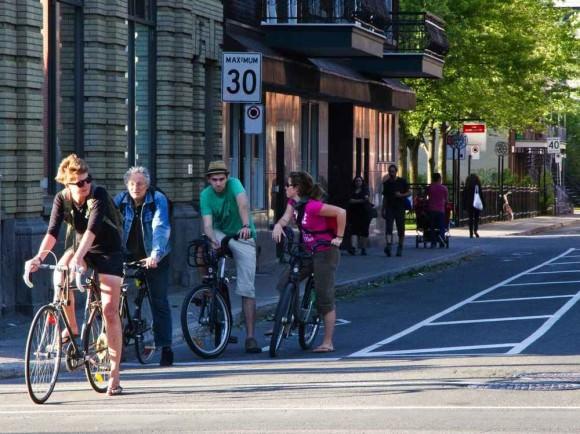 Montreal Radverkehr