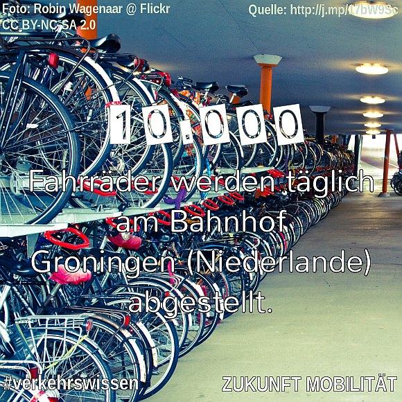 Bahnhof Groningen Fahrradabstellmöglichkeiten Fahrradgarage