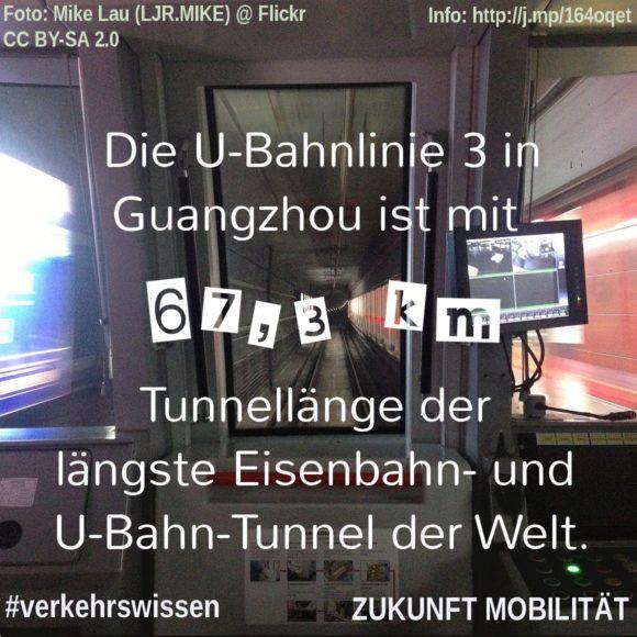 Der längste Eisenbahntunnel der Welt |Der längste U-Bahn-Tunnel der Welt