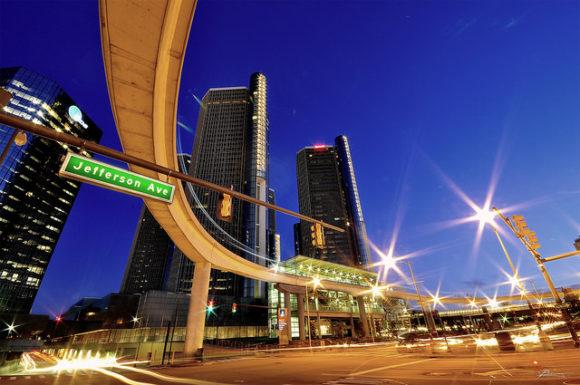 Jefferson Eve. Detroit bei Nacht