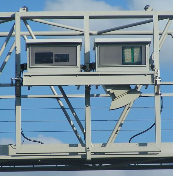 Mautbrücke Kameras Laserscanner Lkw-Maut Deutschland