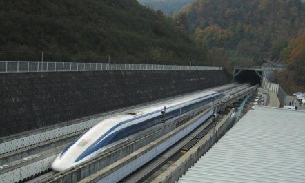 Chūō-Shinkansen: 500 km/h schnelle Magnetschwebebahn zwischen Tokio und Osaka (Fertigstellung: 2045)