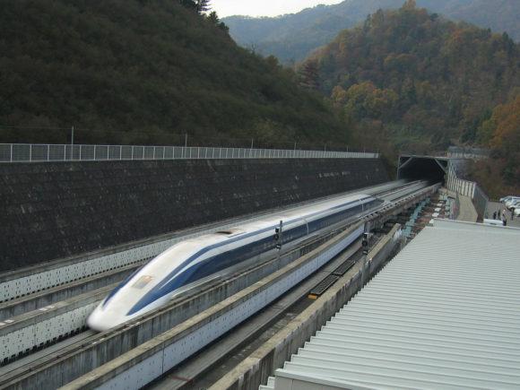 JR-Maglev-MLX01 Yamanashi Chuo Shinkansen