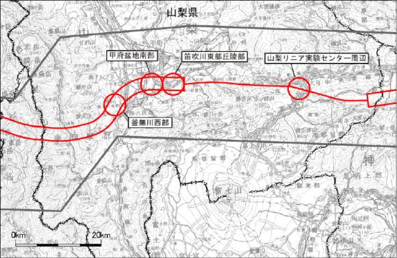 Southern part of Kōfu Basin (Kyōchū area)
