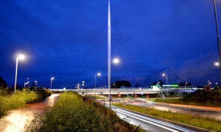 Herausragende Radverkehrsinfrastruktur: Der Hovenring bei Eindhoven