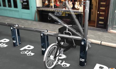 [Designstudie] Der Copenhagenize Bar, eine innovative Abstelllösung für Lastenfahrräder