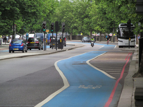 Cycle superhighway London