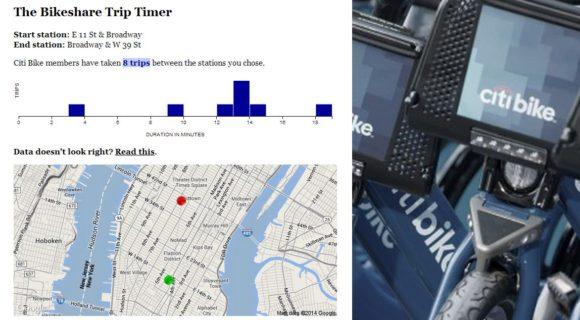 The Bikeshare Trip Timer