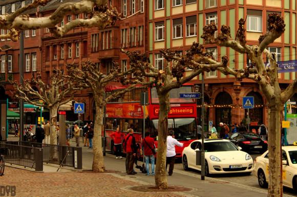 Porsche Panamera als Taxi in Frankfurt