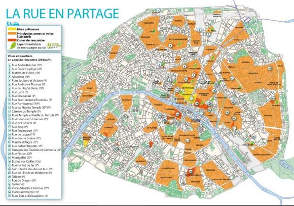 30 km/h in Paris Tempo 30