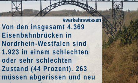 [Verkehrswissen kompakt] Zustand der Eisenbahnbrücken in NRW
