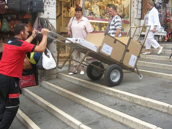 Carello Handkarren asu Venedig Italien