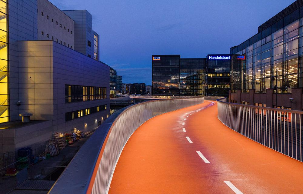 Cykelslangen – Kopenhagener Brückenschlag für den Radverkehr