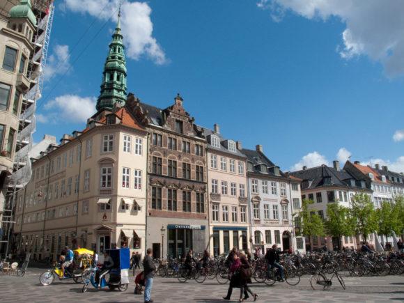 Fahrrad Kopenhagen Sonnenschein