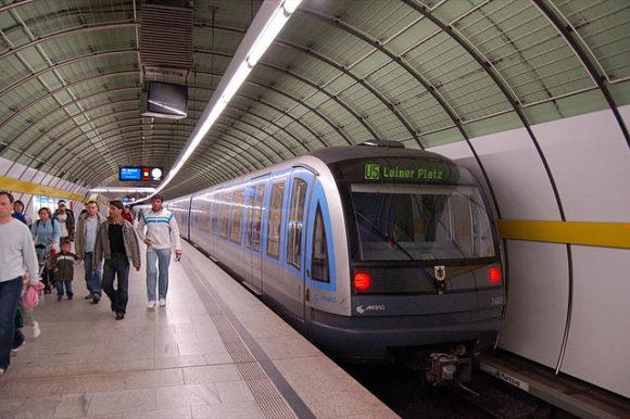 MVG-aureihe C Creative Cmmons Metro Munich