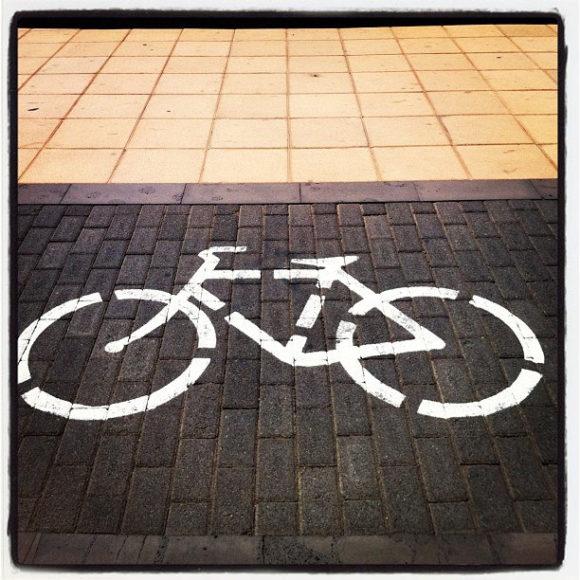 Symbilbild für den Radverkehr und Radweg