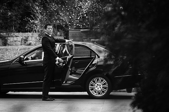 Uber Black in Schanghai China