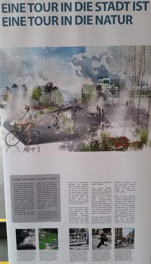 Radverkehr in Kopenhagen - Ausstellung the good city Stadt und Klimawandel