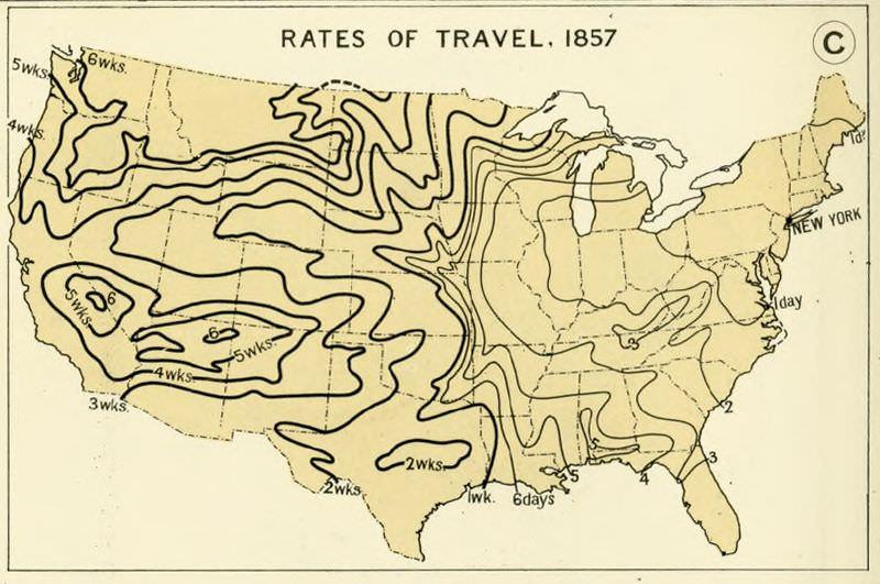 Schneller, höher, weiter: Reiseweiten in den USA 1800 – 1930