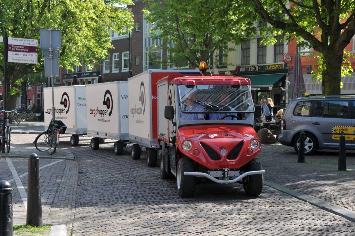 Cargohopper: Das Fahrzeug für eine stadtverträgliche, flächeneffiziente und schadstofffreie Innenstadtlogistik