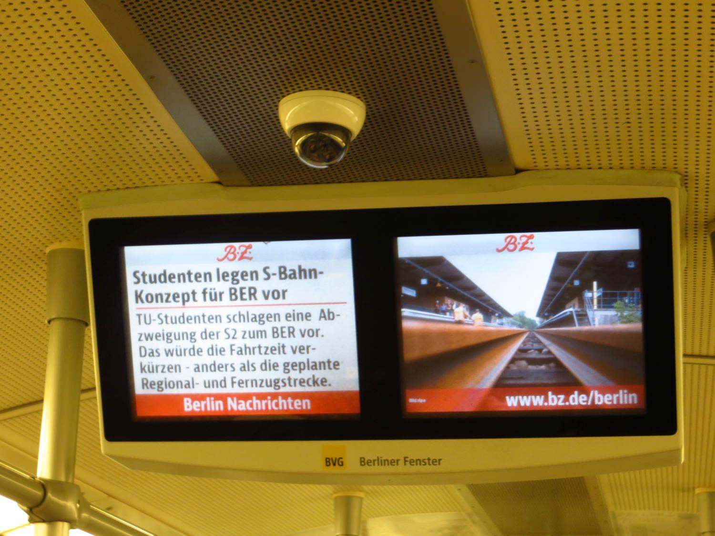 BVG Berliner Fenster S-Bahn Berlin