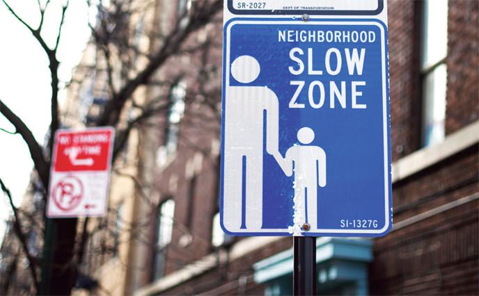 Erste Tempo 30-Zone in New York