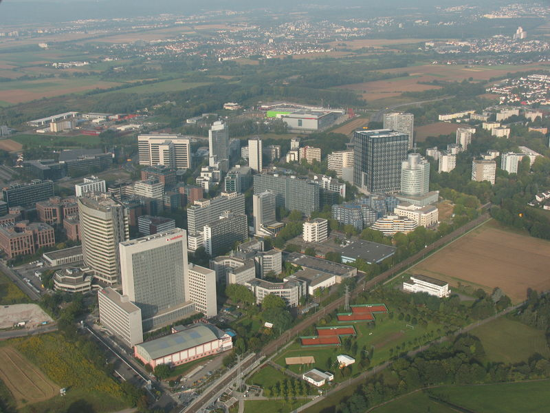 Eschborn Edge City Frankfurt Deutschland