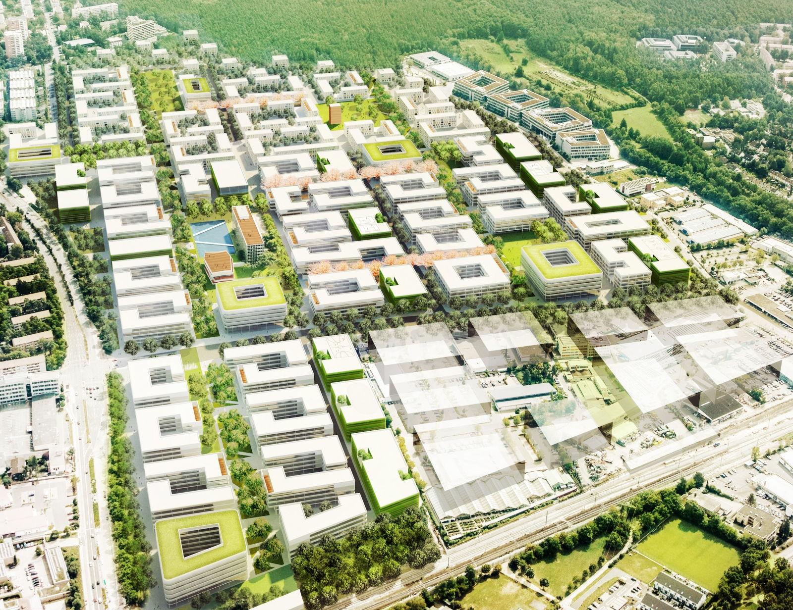 Siemens Campus Erlangen Rendering