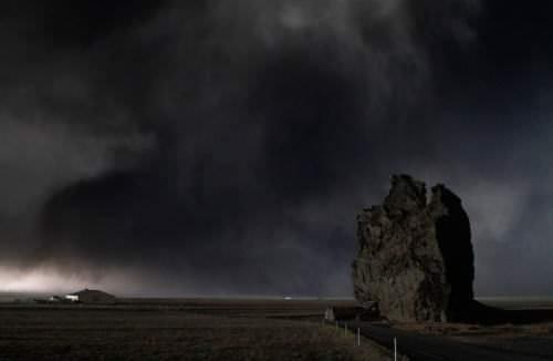 Eyjafjallajokull Vulkan Island