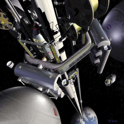 Weltraumlift NASA