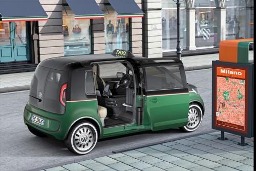 Elektrotaxi VW Designstudie Milano elektro
