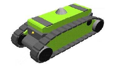 CargoRoo Raupenfahrzeug Adtranz