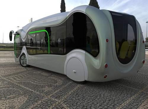 Credo E-Bone Konzeptbus Wasserstoff Bus Elektromotor