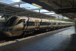 Südafrika Eisenbahn Gautrain