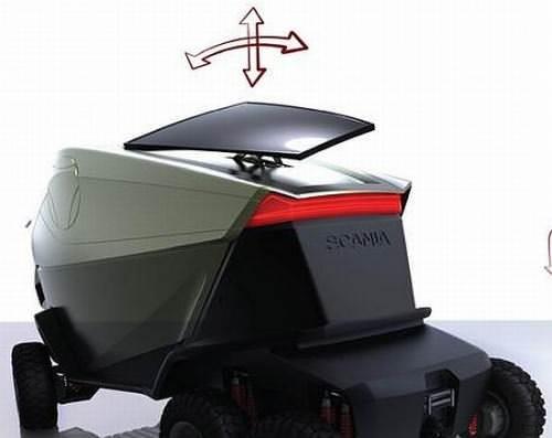 Scania Motion LKW Designstudie 2042 Elektromotor