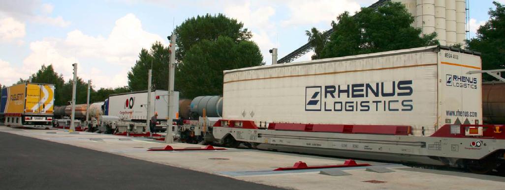 CargoBeamer Zug Cargojet Konzept Kombinierter Verkehr Terminal CargoHub Cargogate