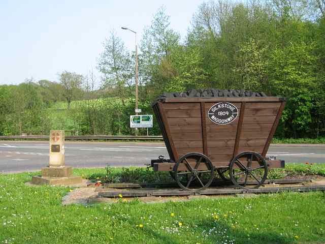 Wagonway Vorläufer der Eisenbahn