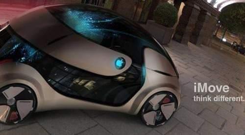 iMove Apple Auto Designcar Designstudie Elektroauto