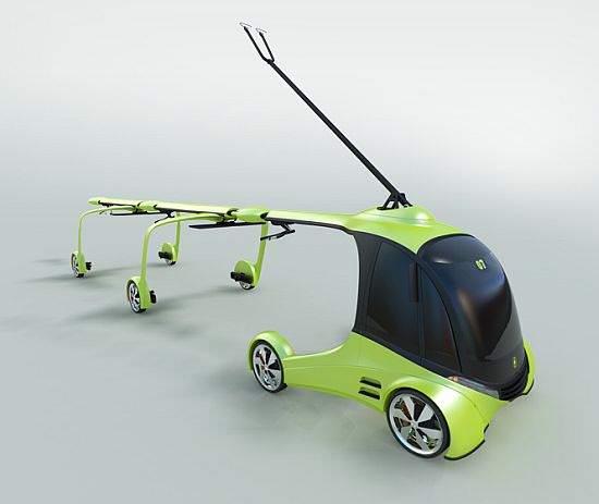 El-Assist Ladeeinheit für Elektroautos Autopilot Shuttle - günstig da keine Batterien